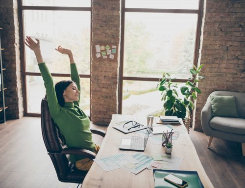 Stretches to help combat long hours of sitting